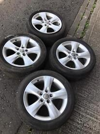 "Vauxhall Astra J MK6 SRI 17"" alloy wheels 225/50/17"