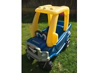 Little tiles cosy coupe truck ride on car