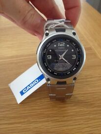 Grey Casio Outgear Analogue-Digital Fishing Watch *Brand New with Tag*