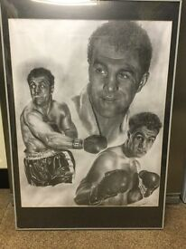 Large Boxing Framed Prints for sale in Uddingston