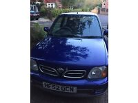 2002 Nissan Micra for sale