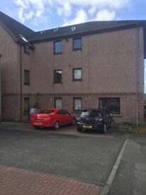 Sauchie, one bed part furnished flat in professionally managed building