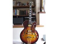 Yamaha AE1200S – Vintage and Rare Archtop L5 style Year: 1988 Serial No: SZJ0014