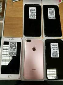 IPhone 7 plus 32gb all network