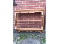 Pine Display Unit / Bookcase / Shelf.