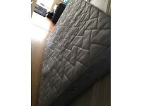 4'6 double used mattress by Silentnight for sale