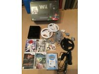 Wii Black Console Bundle