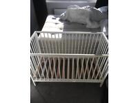 Mothercare cot & mattress