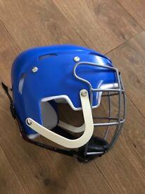 Mycro hurling/Camogie blue large helmet 56 cm as new