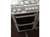 White gas cooker 50cm.....cheap free delivery