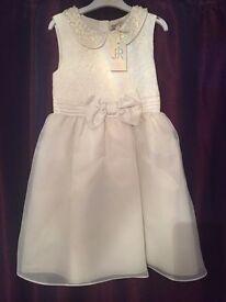 2 ivory bridesmaid dresses brand new