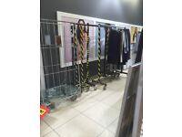 6ft Garment rails
