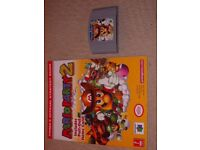 NINTENDO 64 MARIO PARTY 2 GAME AND GAME GUIDE