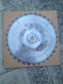 Circular saw blade 400mmx30mmx32t- used -gomex- made in Sweden -offers