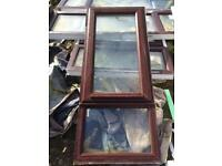 Windows x3 Brown upvc