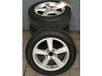 "205/55/R16 94V Winter Tryes & 16"" Alloy Wheels For Sale (Excellent Condition)"