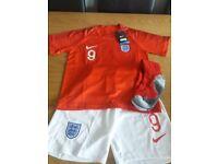 Kids England world cup full kit Kane