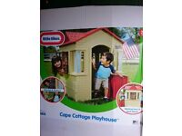 Little Tikes Cape Cottage Playhouse - brand new in box