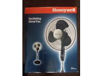 Free standing honey well fan as new box unopened Air Conditioners