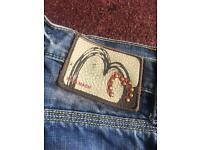 Genuine men's mish mash jeans. Size 32 short.