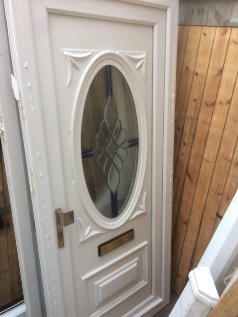 Upvc double glazed front door in whitley bay tyne and - Upvc double front exterior doors ...