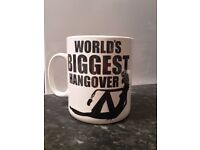 Funny Mug WORLDS BIGGEST HUNGOVER