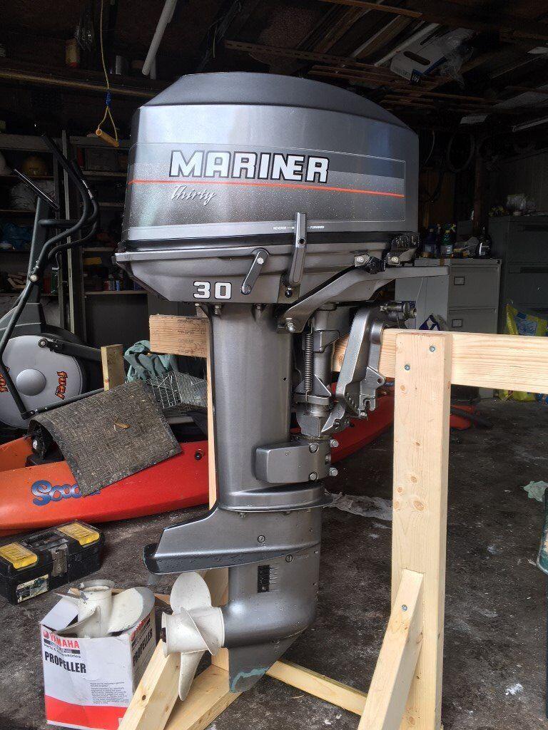 mariner 30 hp outboard motor manual