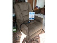 Riser Recliner Chair (Dual Motor), Care Co Aspen model, perfect (unused) condition, in mushroom