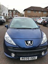 Peugeot 207 1.4L 5 Door Hatchback Manual