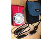 Samsung ES71 - 12.2MP digital camera in red