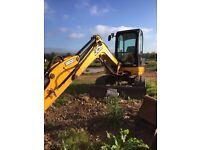 2012 JCB 8065 RTS Mini-Digger Excavator - £27,500 + VAT