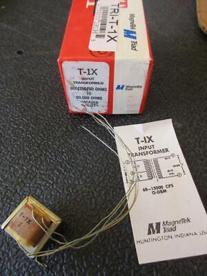 Triad Miniature Audio Transformer T1x Sec 50k Pri 60025050 1 Mw Line Mike