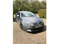 2012 TOP SPEC 34K mileage FSH Grey MG6 TSE Full Leather Black Alloys