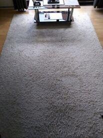 Large rug , white / ivory