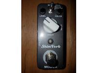 Lovely little Mooer reverb guitar pedal