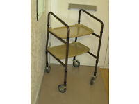 Aidapt Height Adjustable Mobility walking aid trolley –New- Never used.