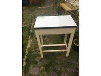 Table/old desk/medicine cabinet