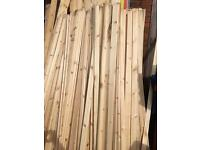 8ft 2/3inch architrave £1.50 each