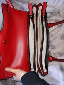 Red fiorelli bag