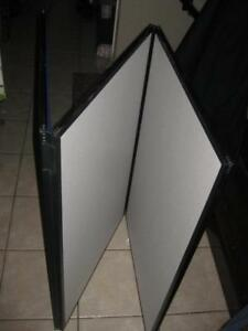 Apollo Exhibition Display Panel. 6 Panel Show Board. Executive Style Bulletin Board / White Board / Matrix Magnetic