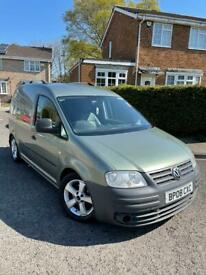 VW caddy 1.9tdi DSG camper day van