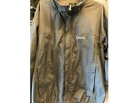 Gents Berghaus waterproof jacket with removable fleece liner. Black XXL