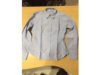 34 mix of brand new white and blue shirts mens and womens