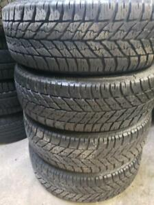 4 winter tires Goodyear 215/60r16