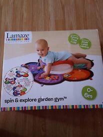 Lamaze Spin & Explore Garden Gym.