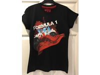 Ladies F1 Formula 1 2007 World Championship T Shirt Top - Approx Size 8-10 VGC