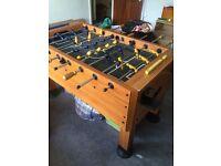 Pub size football table