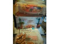 Halogen Portable Oven with free recipe books