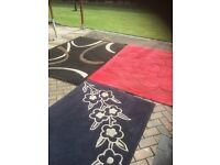 3 rugs for sale in good condition