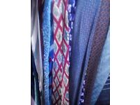 Job Lot 100 Ties Wholesale Used Second Hand Good Condition
